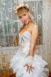 ОРигенальное свадебное платье