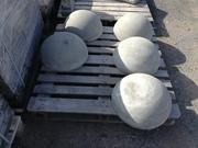 бетонные полусферы -ограничители