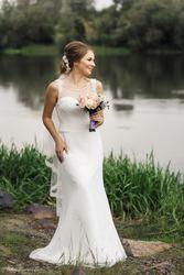 Очень удобное и комфортное свадебное платье.